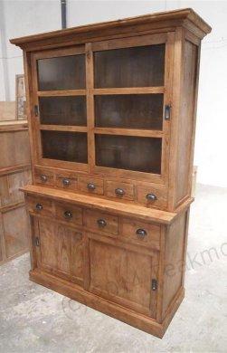 Teak cabinet old brushed - Picture 3