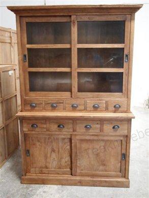 Teak cabinet old brushed - Picture 4