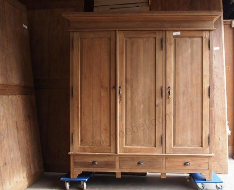 Teak wardrobe 200cm - Picture 12