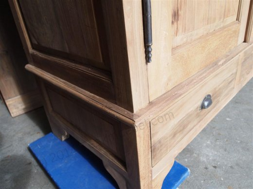 Teak wardrobe 200cm - Picture 4