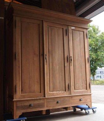 Teak wardrobe 200cm - Picture 2