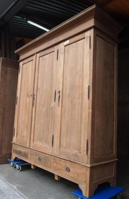 Teak wardrobe 200cm - Picture 10