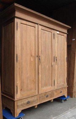 Teak wardrobe 200cm - Picture 11