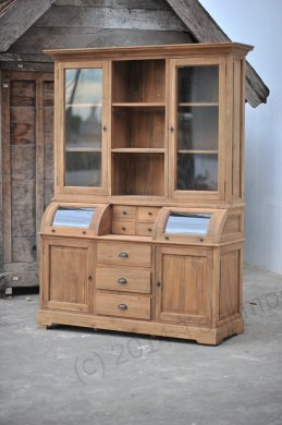 Teak cabinet 160cm - Picture 1