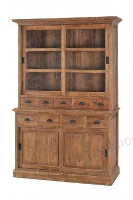 Teak cabinet old brushed - Picture 0