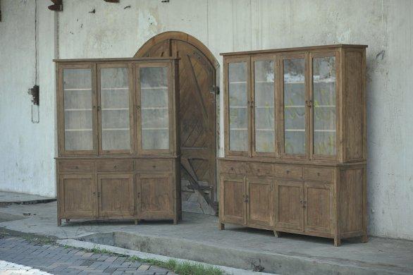 Teak cabinet 200cm reclaimed - Picture 3