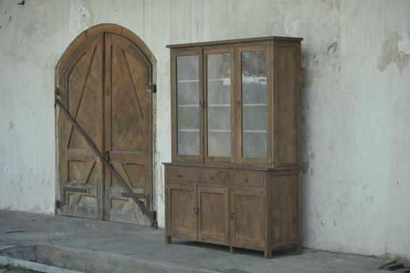 Teak cabinet 160cm reclaimed - Picture 0