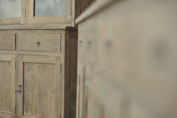 Teak cabinet 160cm reclaimed - Picture 3