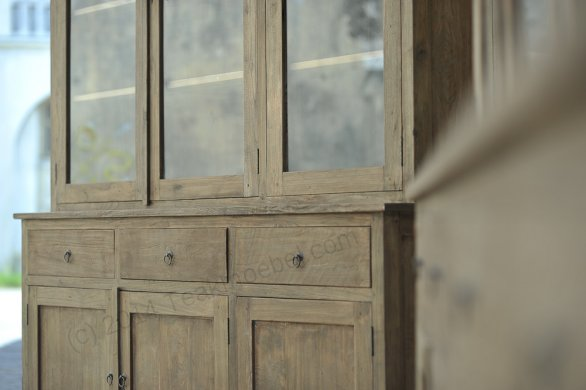 Teak cabinet 160cm reclaimed - Picture 2