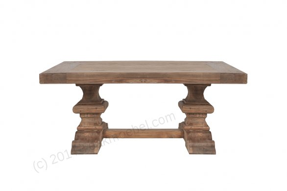 Teak monastery coffeetable 120cm - Picture 0
