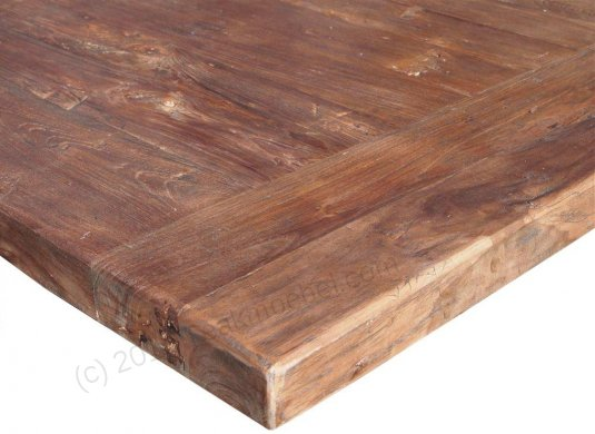 Teak refectory table 280x100cm - Picture 4