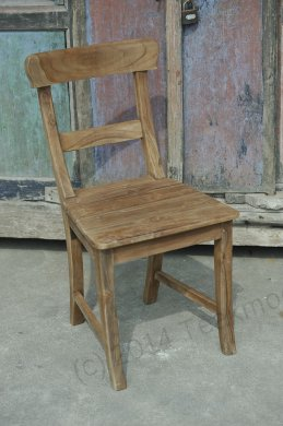 Teak chair Mariotto rustic - Picture 0