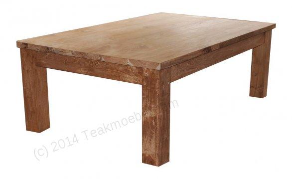 Teak coffeetable 120 x 80 cm - Picture 0
