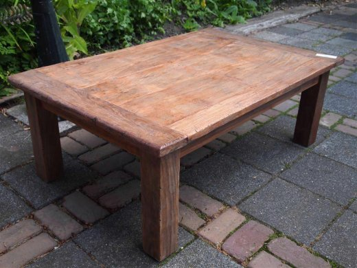 Teak coffeetable 120x80cm Dingklik - Picture 2