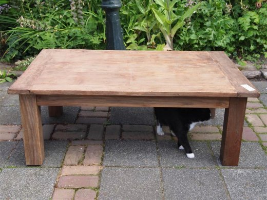 Teak coffeetable 120x80cm Dingklik - Picture 1
