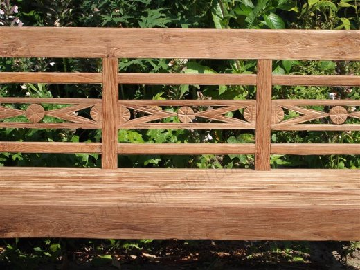 Teak station gardenbench 3-seater - Picture 3