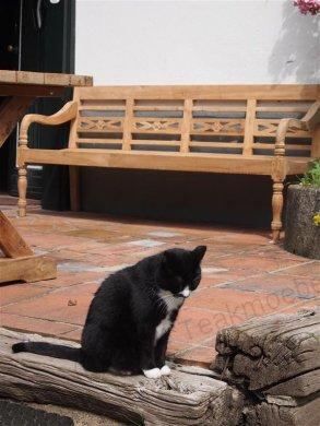 Teak station gardenbench 4-seater - Picture 2