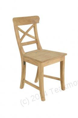 Teak chair Mariotto cross - Picture 0