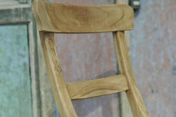 Teak chair Mariotto rustic - Picture 1