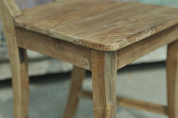 Teak chair Mariotto rustic - Picture 3