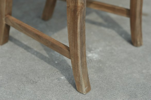Teak chair Mariotto rustic - Picture 4