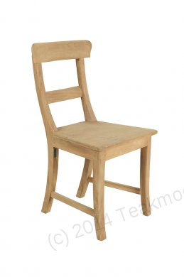 Teak chair Mariotto - Picture 0