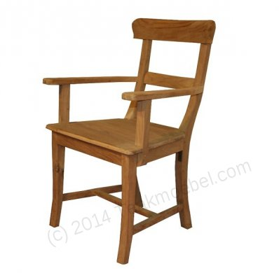 Teak armchair Mariotto - Picture 0