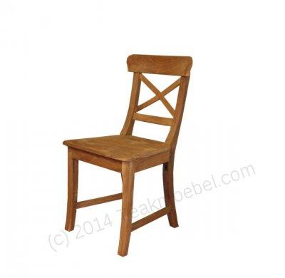 Teak chair Mariotto cross - Picture 2