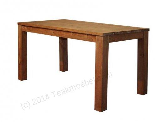 Teak table 140 x 80 cm - Picture 0