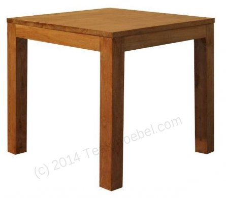 Teak table 80 x 80 cm - Picture 0