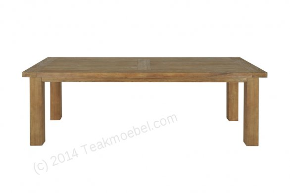 Teak table London 225x100cm - Picture 0