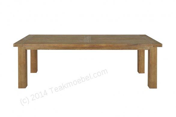 Teak table London 200x100cm - Picture 0