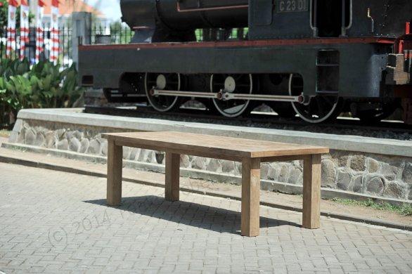 Teak table London 200x100cm - Picture 8