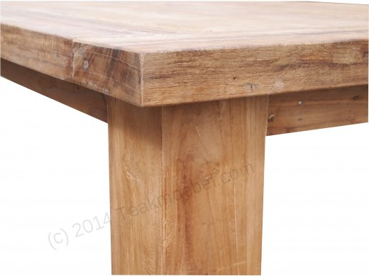 Teak table London 300 x 100 cm - Picture 12