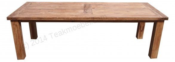Teak table London 300 x 100 cm - Picture 11