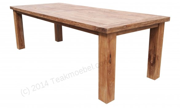 Teak table London 200x100cm - Picture 3
