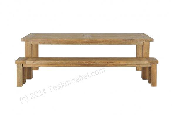 Teak table London 250 x 100 cm - Picture 1