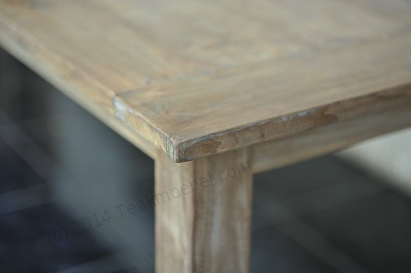 Teak table 300 x 100 cm reclaimed - Picture 15
