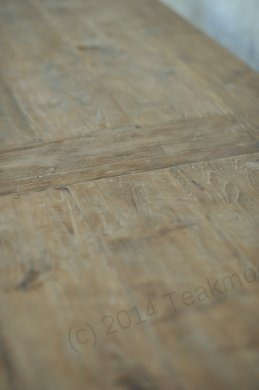 Teak table 300 x 100 cm reclaimed - Picture 16