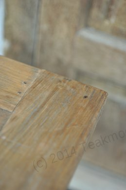 Teak table 300 x 100 cm reclaimed - Picture 14