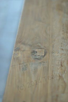 Teak table 300 x 100 cm reclaimed - Picture 17
