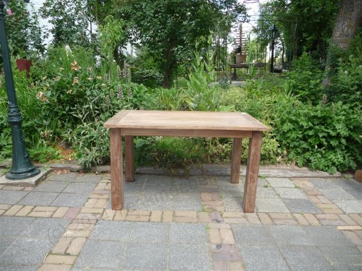 Teak table 140 x 90 cm reclaimed - Picture 6