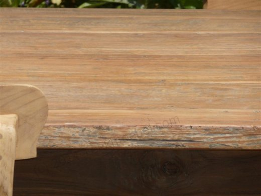 Teak table 160 x 90 cm reclaimed - Picture 3