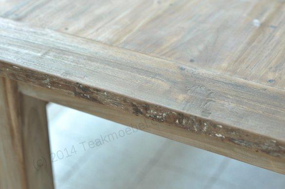 Teak table 200 x 100 cm reclaimed - Picture 1