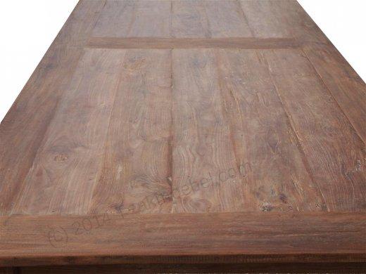 Teak table 320 x 120 cm reclaimed - Picture 5