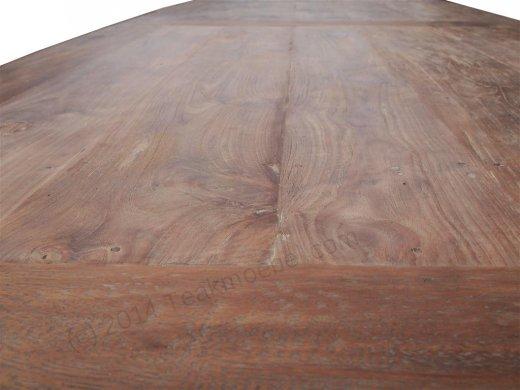 Teak table 320 x 120 cm reclaimed - Picture 4
