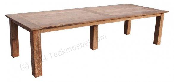 Teak table 320 x 120 cm reclaimed - Picture 0