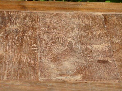 Teak table 80 x 80 cm reclaimed - Picture 9