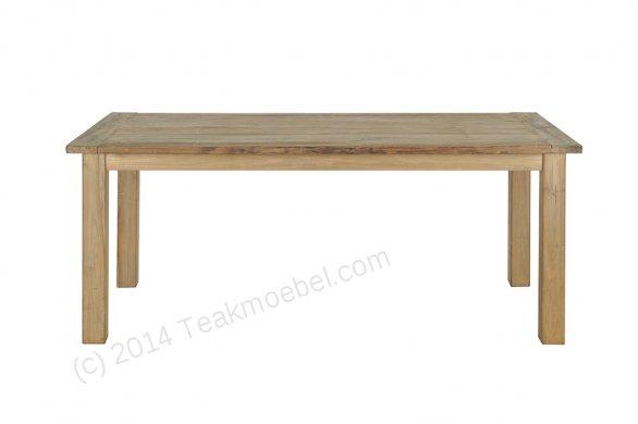 Teak table 200 x 100 cm reclaimed - Picture 4