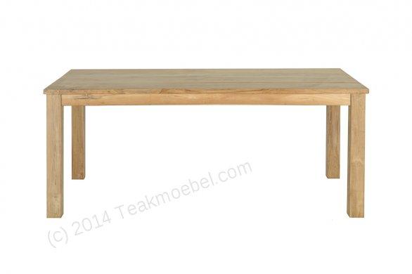 Teak table 200 x 100 cm - Picture 1